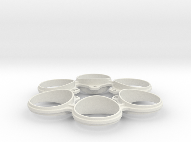 Revolver Ring Sizer - Medium in White Strong & Flexible