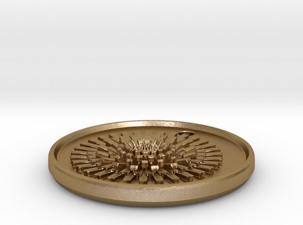 Dandelion Pendant 3d printed