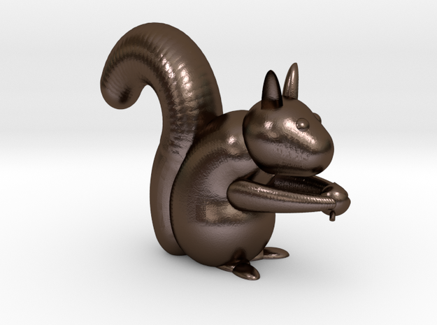 Bloby the squirrel 3d printed