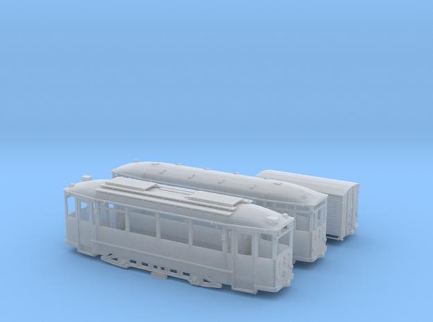 Historischer Straßenbahnzug Thüringer Waldbahn ( in Smooth Fine Detail Plastic