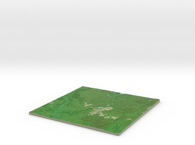Terrafab generated model Tue Nov 19 2013 13:21:07 3d printed