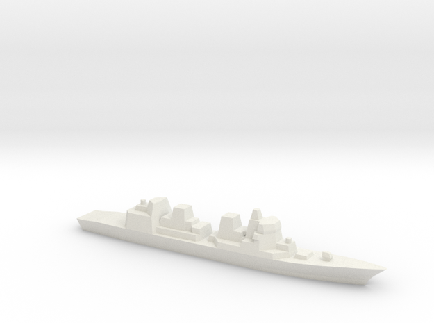 Akizuki 1:2400 in White Natural Versatile Plastic