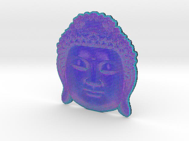 BigBuddhaheadblue 3d printed