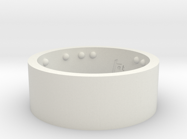 Rond_Ring_CarpeDiem_Int_22mmx10mm 3d printed