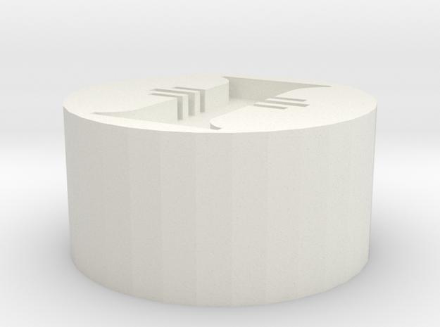 Inquisition Seal in White Natural Versatile Plastic