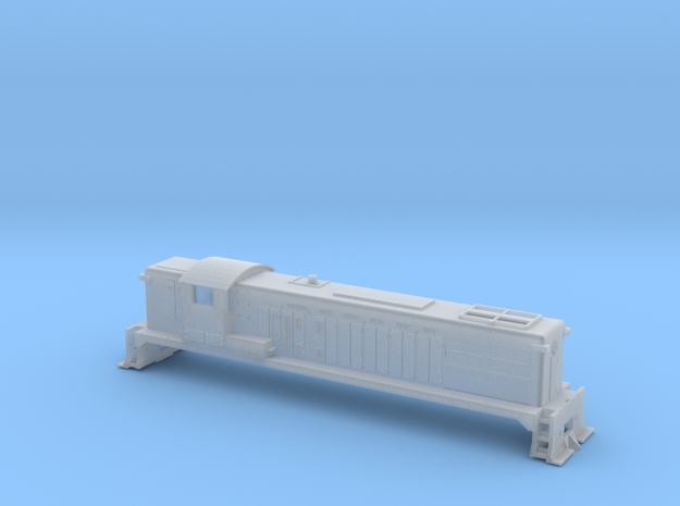 Z Scale Baldwin  AS16 in Smooth Fine Detail Plastic