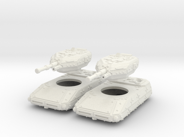 MG144-CT002A Resister II Grav Tank (Two) 3d printed