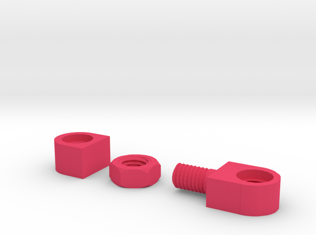 Shutter Cable Release Adapters, tapered threads 3d printed