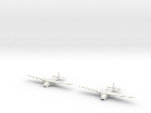 Me-321 German Glider 1/600 X2 in White Strong & Flexible