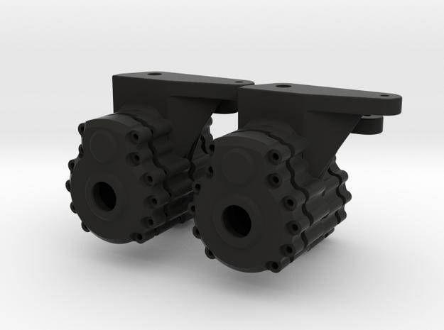 Portal Axle - Axial AX10, SCX10, 4x4x4 3d printed