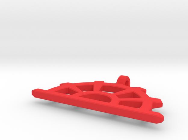 RisingSunWring in Red Processed Versatile Plastic
