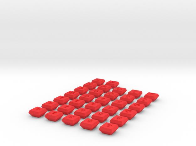 Full Chess Tiles Set 3d printed