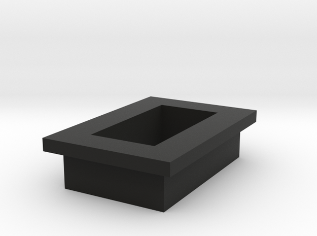 Rancilio Rocky Grinder Baseplate in Black Natural Versatile Plastic