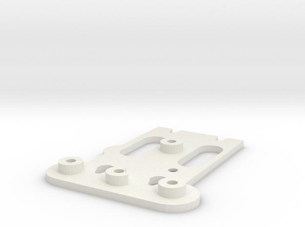 Tarot Attache rapide for gimball 2D H3 Phatom 1 in White Natural Versatile Plastic