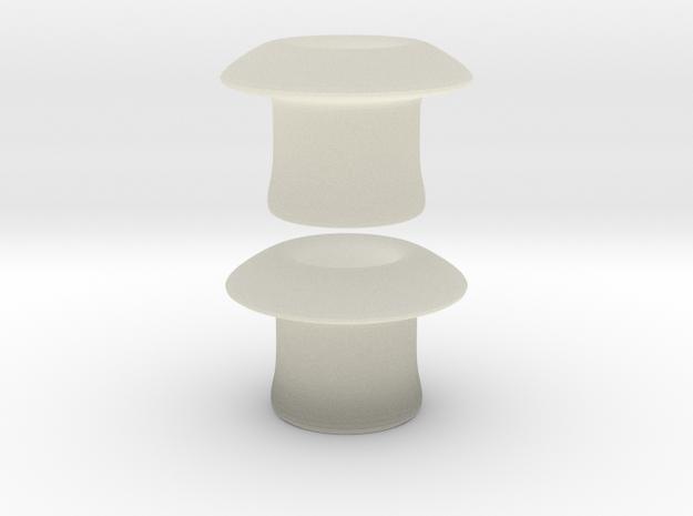 4 gauge plug in Transparent Acrylic