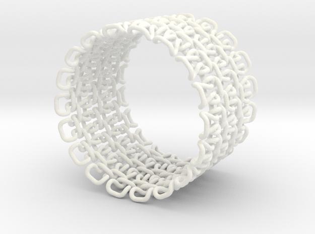 Stitch Bracelet - Large 3d printed