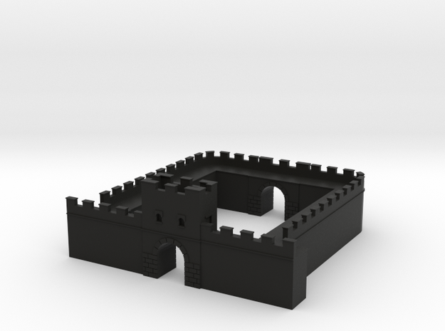 Roman Wall Milecastle  3d printed