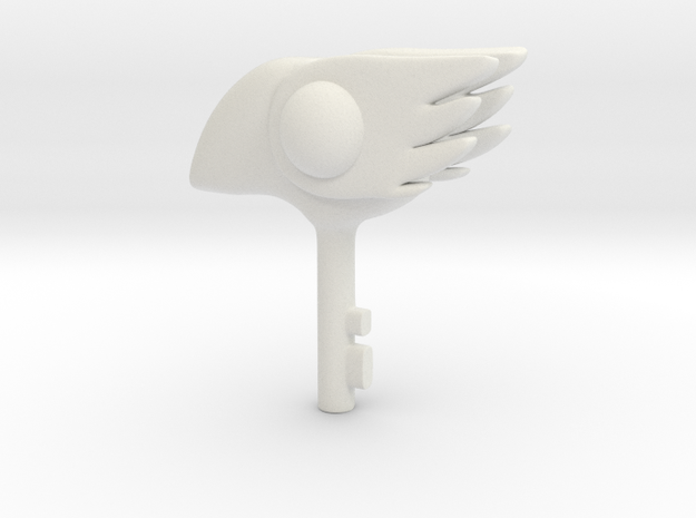 1/3 Bird Clow key 3d printed