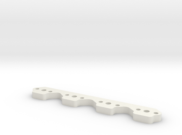 Ford Flange in White Natural Versatile Plastic