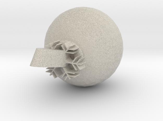 Xmas Decoration (4) small 3d printed
