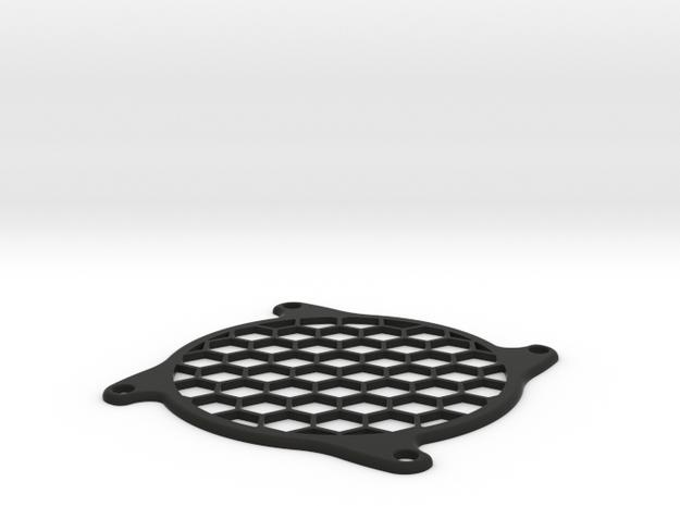 PC Fan grill (80mm) 3d printed