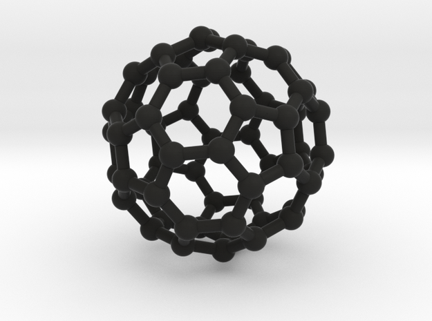 Fullerene (C60) or Buckyball 3d printed