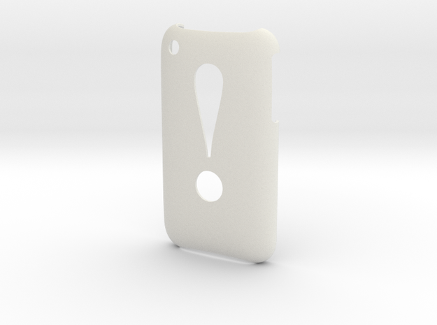 'Exclamation' 3GS Cover 3d printed