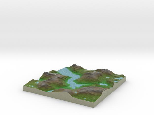 Terrafab generated model Wed Nov 06 2013 02:41:41 3d printed