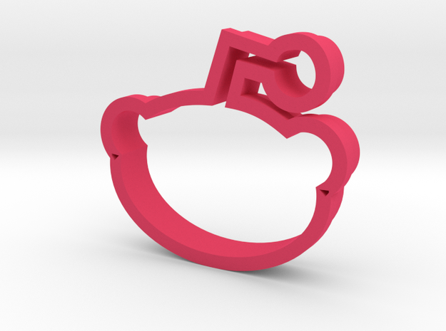 Reddit Cookie Cutter 3d printed