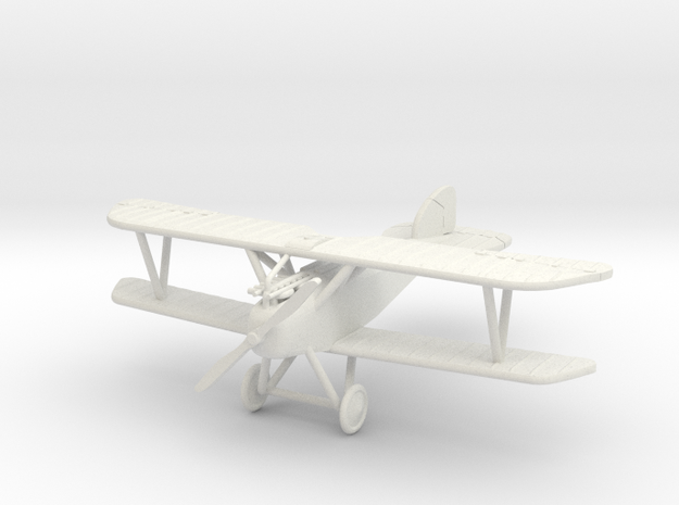 "Albatros (Oeffag) D.III ""No Cowling"" 1:144th Scale in White Natural Versatile Plastic"
