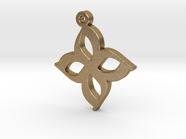 Atco Pendant (1 inch) 3d printed
