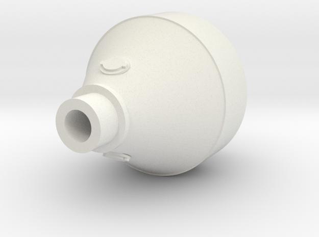 1:87 Puupiippu - balloon stack in White Natural Versatile Plastic