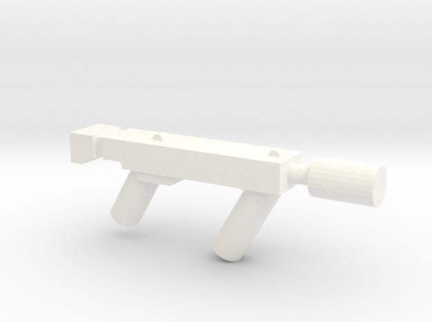 Sub Machine gun with Silencer 3d printed