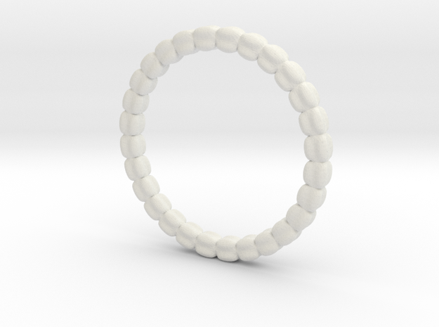 Vertebral ring in White Natural Versatile Plastic