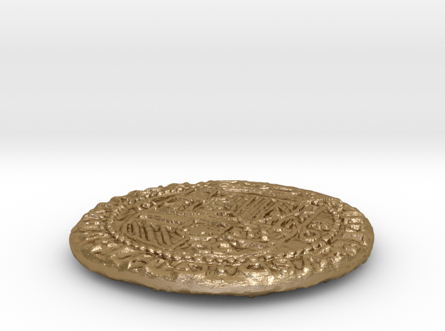 Uncharted: Spanish Gold Coin 3d printed
