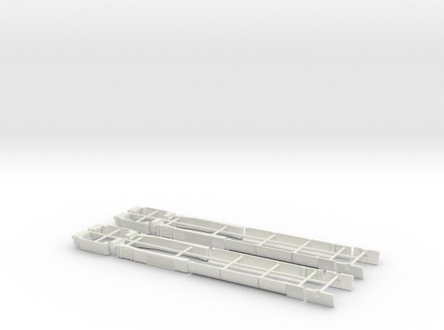 DM'90 (H0) *Parts!* in White Natural Versatile Plastic