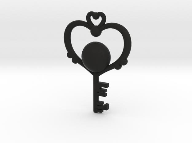 Pluto Key 3d printed