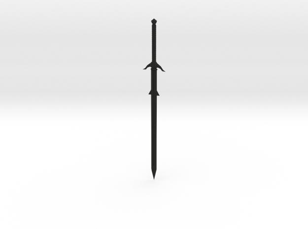 Smaller Broadsword  3d printed