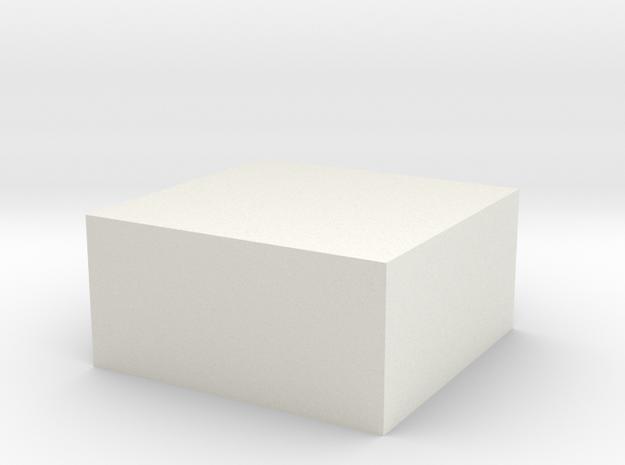 PAR_White_Detail 3d printed