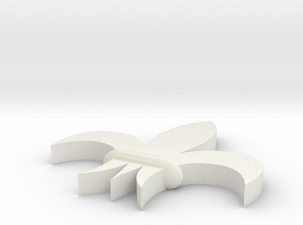 Adepta Sororitas fleur de lis 3d printed
