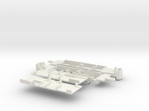 Fahrgestell zum ZGT6 in White Natural Versatile Plastic