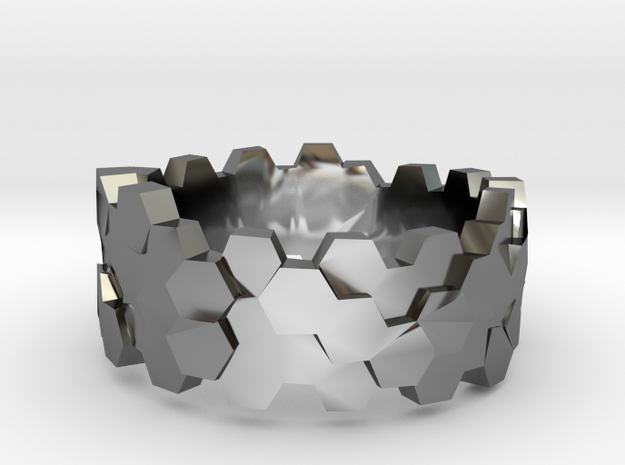 Hengsha ring: size 7 (US) O (US) 3d printed