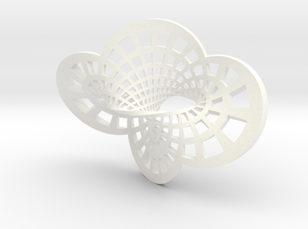Round Möbius Strip (Small) 3d printed