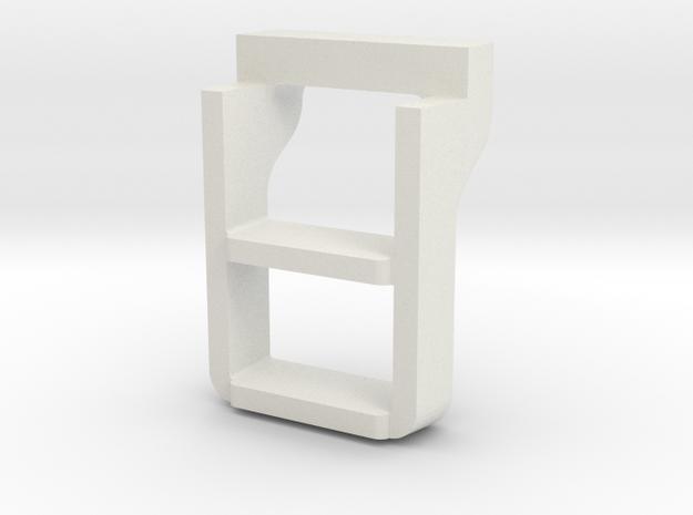 Santa Fe 3751 Tender steps 3d printed