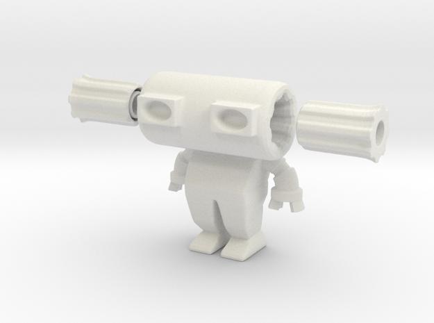 Robot 0029 Diesel Bot v2 in White Natural Versatile Plastic