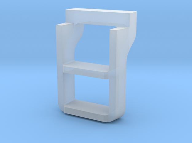 Santa Fe 3751 Tender steps in Smooth Fine Detail Plastic