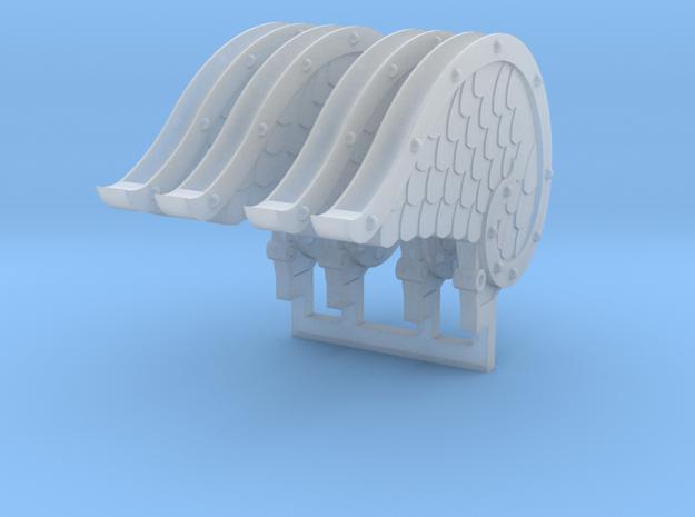 4x Mech Angel Wings 3d printed