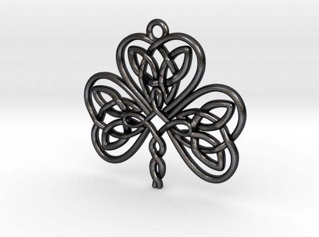 Shamrock Knot Pendant 1.25 Inch 3d printed