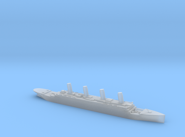 Titanic 1:6000 3d printed