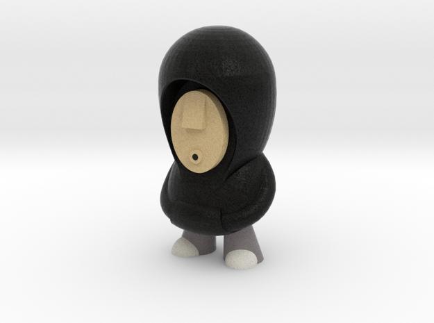 7cm Black Hoodie 3d printed